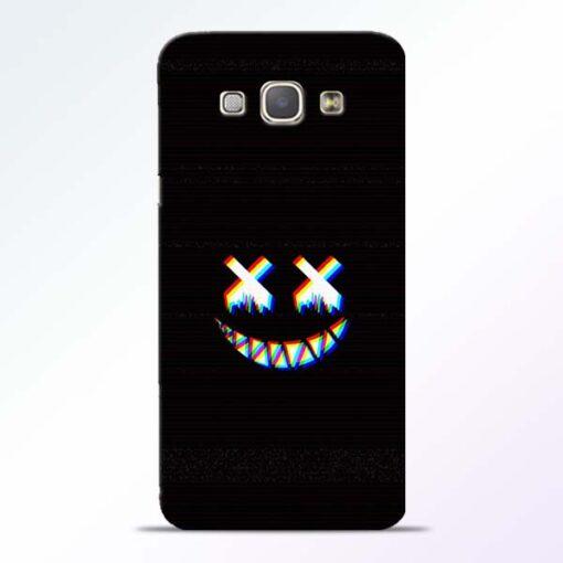 Black Marshmallow Samsung Galaxy A8 2015 Back Cover