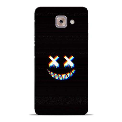 Black Marshmallow Samsung Galaxy J7 Max Back Cover
