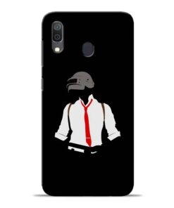 Black Pubg Samsung Galaxy A30 Back Cover