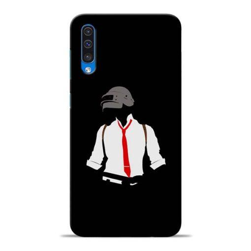 Black Pubg Samsung Galaxy A50 Back Cover