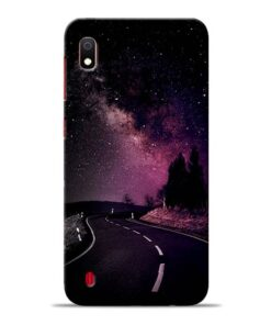 Black Road Samsung Galaxy A10 Back Cover