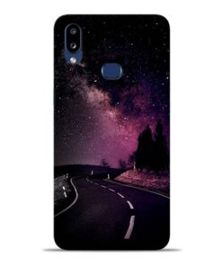 Black Road Samsung Galaxy A10s Back Cover