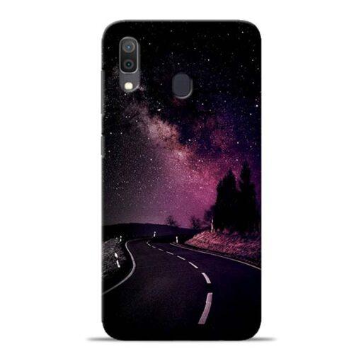 Black Road Samsung Galaxy A30 Back Cover