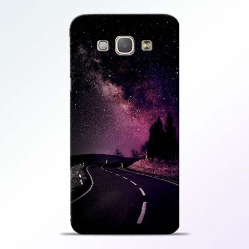 Black Road Samsung Galaxy A8 2015 Back Cover