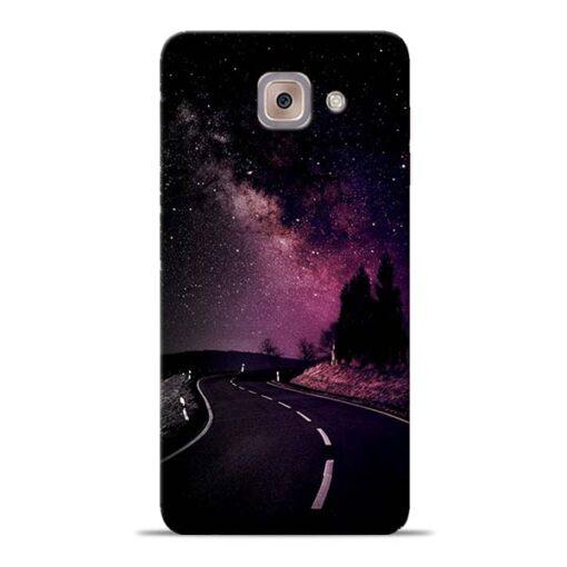 Black Road Samsung Galaxy J7 Max Back Cover