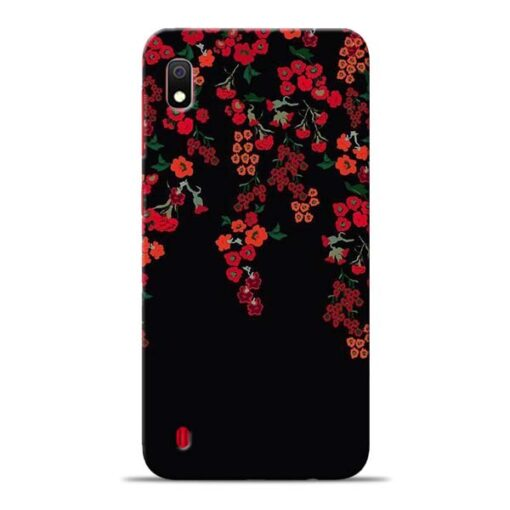 Blossom Pattern Samsung Galaxy A10 Back Cover