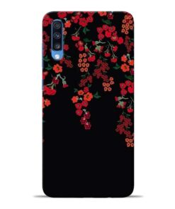 Blossom Pattern Samsung Galaxy A70 Back Cover