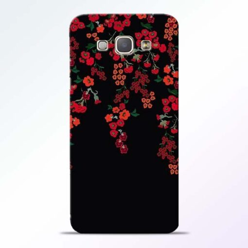 Blossom Pattern Samsung Galaxy A8 2015 Back Cover