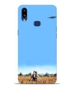 Blue Sky Samsung Galaxy A10s Back Cover