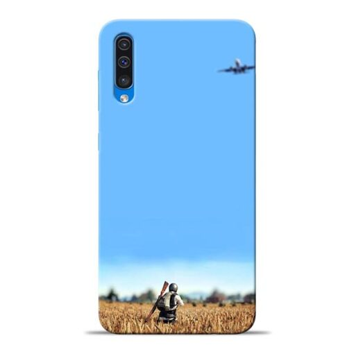 Blue Sky Samsung Galaxy A50 Back Cover