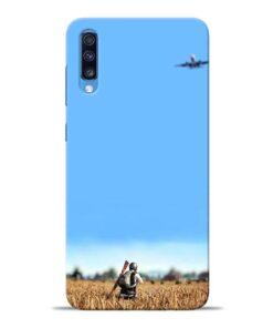 Blue Sky Samsung Galaxy A70 Back Cover