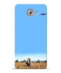 Blue Sky Samsung Galaxy J7 Max Back Cover