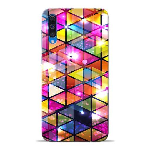 Crystal Samsung Galaxy A50 Back Cover