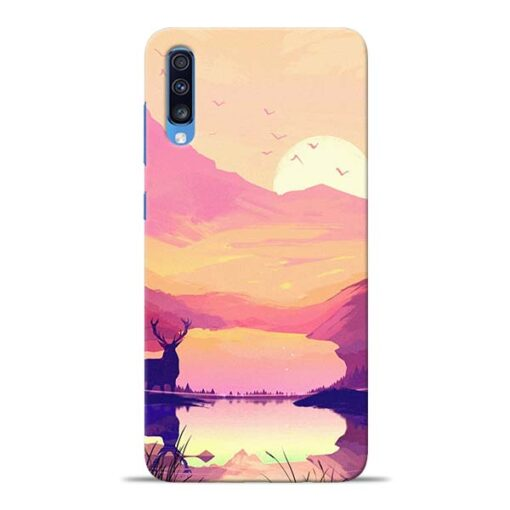 Deer Nature Samsung Galaxy A70 Back Cover