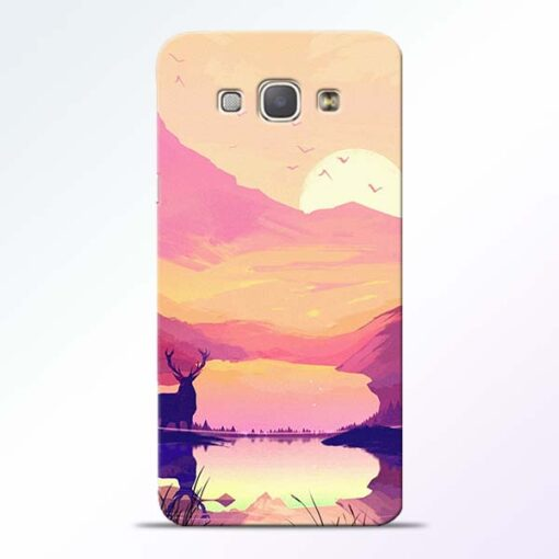 Deer Nature Samsung Galaxy A8 2015 Back Cover
