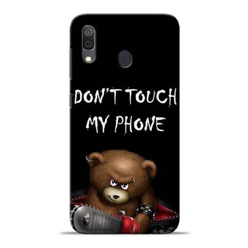 Don't touch Samsung Galaxy A30 Back Cover