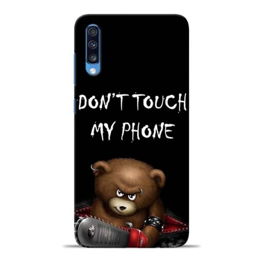 Don't touch Samsung Galaxy A70 Back Cover