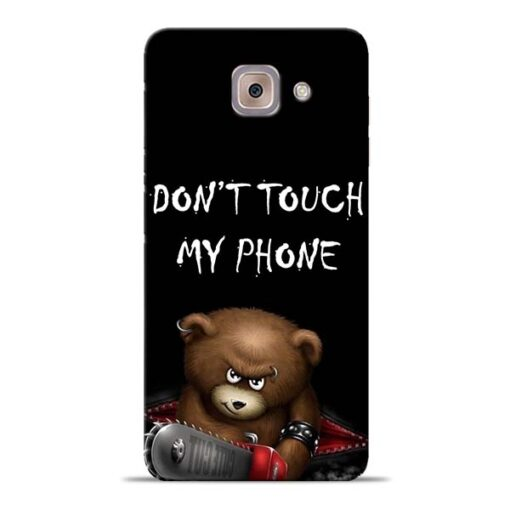 Don't touch Samsung Galaxy J7 Max Back Cover