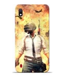 Fire Pubg Samsung Galaxy A10 Back Cover