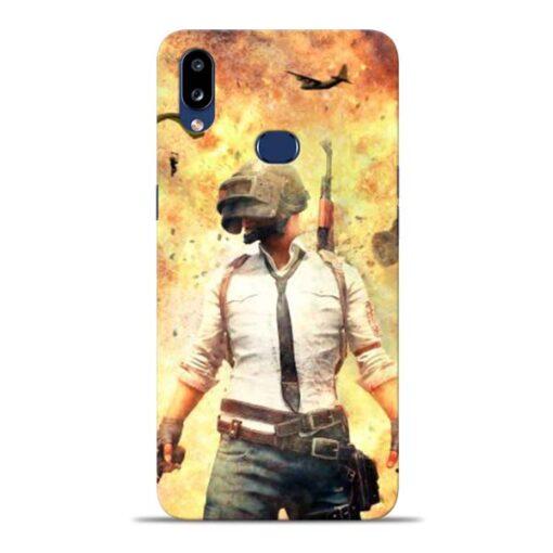 Fire Pubg Samsung Galaxy A10s Back Cover
