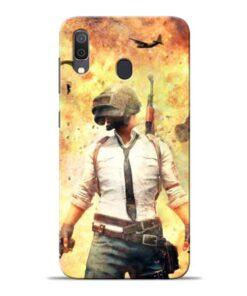Fire Pubg Samsung Galaxy A30 Back Cover
