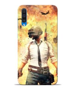 Fire Pubg Samsung Galaxy A50 Back Cover