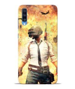 Fire Pubg Samsung Galaxy A70 Back Cover