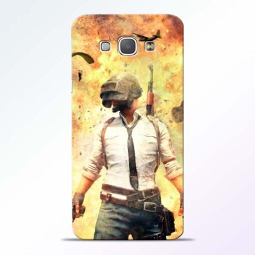 Fire Pubg Samsung Galaxy A8 2015 Back Cover