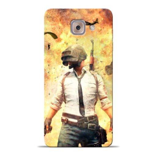 Fire Pubg Samsung Galaxy J7 Max Back Cover