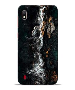 Half Break Samsung Galaxy A10 Back Cover