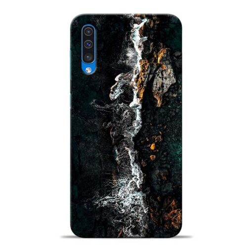 Half Break Samsung Galaxy A50 Back Cover