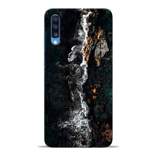 Half Break Samsung Galaxy A70 Back Cover