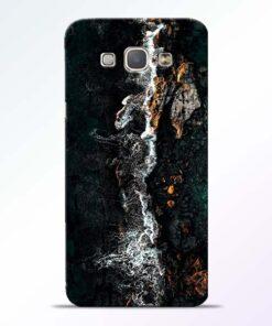Half Break Samsung Galaxy A8 2015 Back Cover