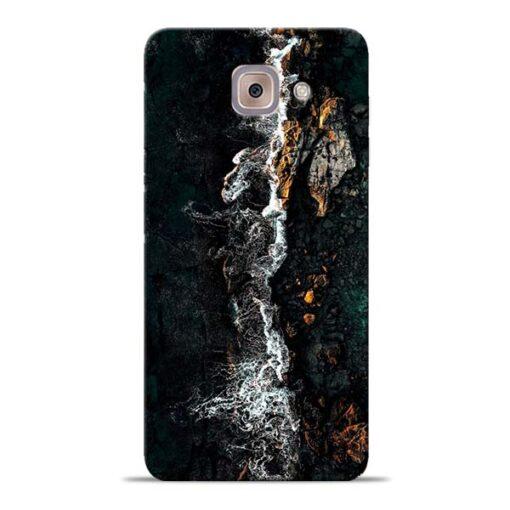 Half Break Samsung Galaxy J7 Max Back Cover
