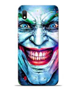 Joker Face Samsung Galaxy A10 Back Cover