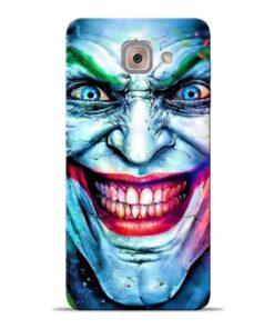 Joker Face Samsung Galaxy J7 Max Back Cover