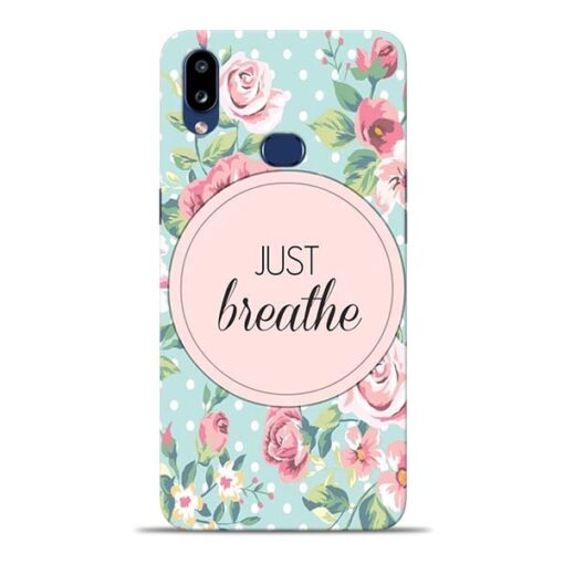 Just Breathe Samsung Galaxy A10s Back Cover