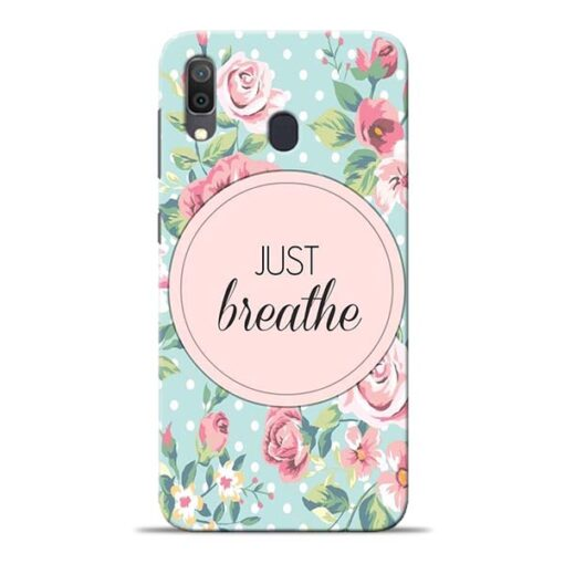 Just Breathe Samsung Galaxy A30 Back Cover