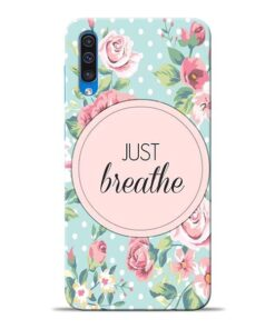 Just Breathe Samsung Galaxy A50 Back Cover