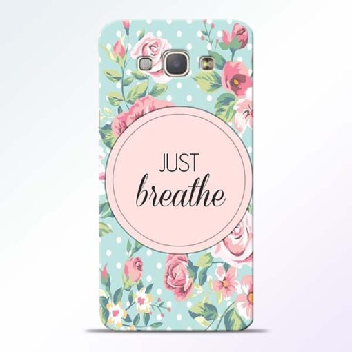 Just Breathe Samsung Galaxy A8 2015 Back Cover