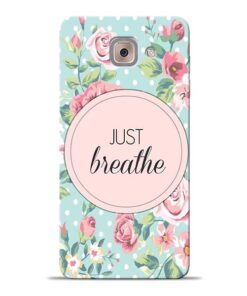 Just Breathe Samsung Galaxy J7 Max Back Cover