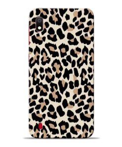 Leopard Pattern Samsung Galaxy A10 Back Cover