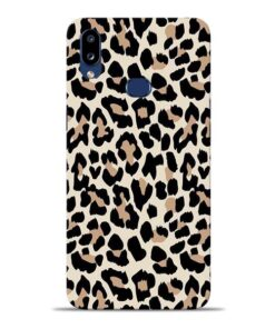 Leopard Pattern Samsung Galaxy A10s Back Cover
