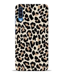 Leopard Pattern Samsung Galaxy A70 Back Cover