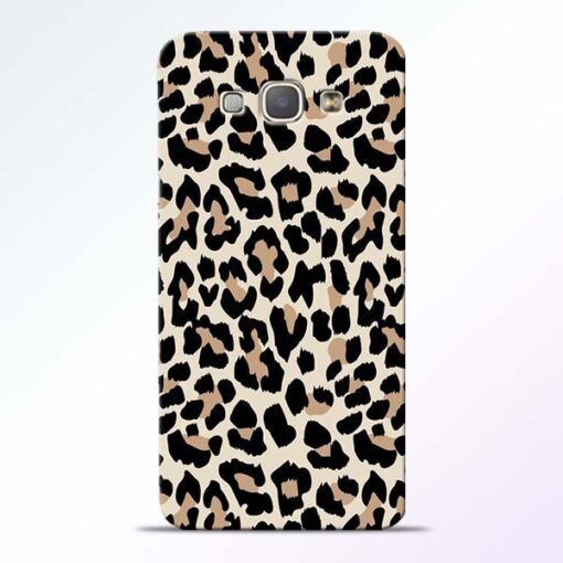 Leopard Pattern Samsung Galaxy A8 2015 Back Cover