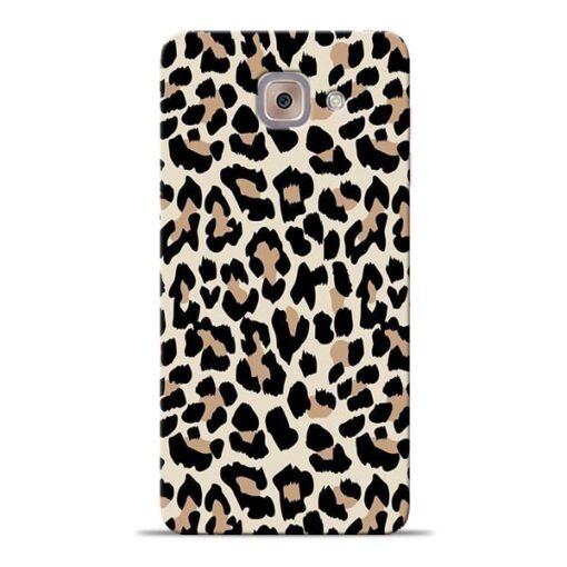 Leopard Pattern Samsung Galaxy J7 Max Back Cover