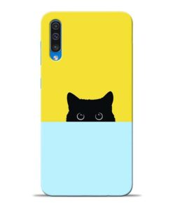 Little Cat Samsung Galaxy A50 Back Cover