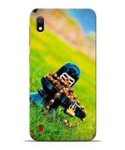 Mahadev Samsung Galaxy A10 Back Cover