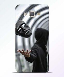 Neon Face Samsung Galaxy A8 2015 Back Cover