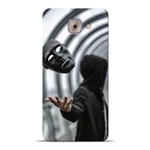 Neon Face Samsung Galaxy J7 Max Back Cover